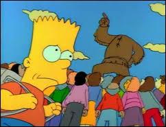 """Dans """"Bart a perdu la tête"""", qui a découpé la tête de Jebediah Springfield ?"""