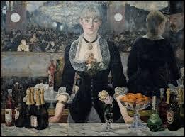 """Qui a peint """"Un bar aux Folies Bergère"""" ?"""