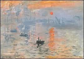 "Qui a peint ""Impression, soleil levant"" ?"