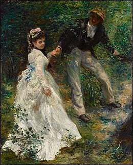 """Quel peintre est l'auteur de cette toile """"La Promenade"""" ?"""