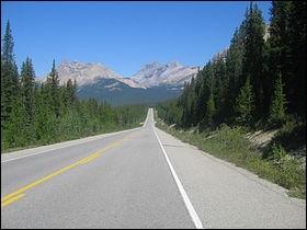 Où se situe la promenade des Glaciers ?