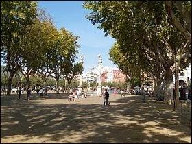 C'est un parc public situé dans le centre historique de Séville, en Andalousie.