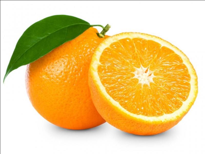 Comme la Q.1 et la Q.2 : orange, pétillante et frais.