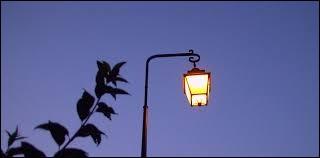Un lampadaire qui éclaire une rue est aussi appelé un...
