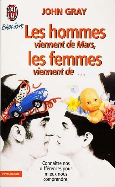 Si, d'après John Gray, spécialiste en thérapie conjugale, ''les hommes viennent de Mars'', d'où viennent les femmes ?