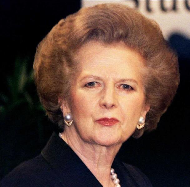 Quel était le surnom de Margaret Thatcher (1925-2013) ?