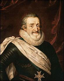 Quel était le surnom du roi Henri IV (1553-1610) ?