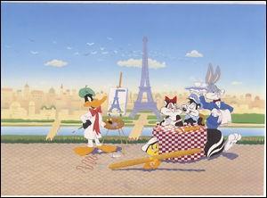 Qui peint la tour Eiffel ?