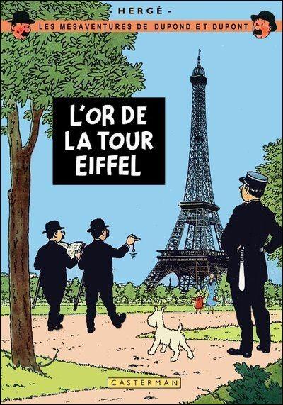 Dupond et Dupont sont eux aussi partis visiter cette fameuse tour Eiffel. Qui les a suivis ?