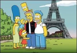 Les dessins animés visitent la tour Eiffel !