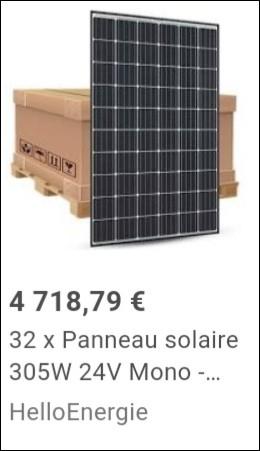 Non, ce n'est pas le prix qu'il faut regarder !Regardez plutôt le panneau solaire, est-ce écologique ?