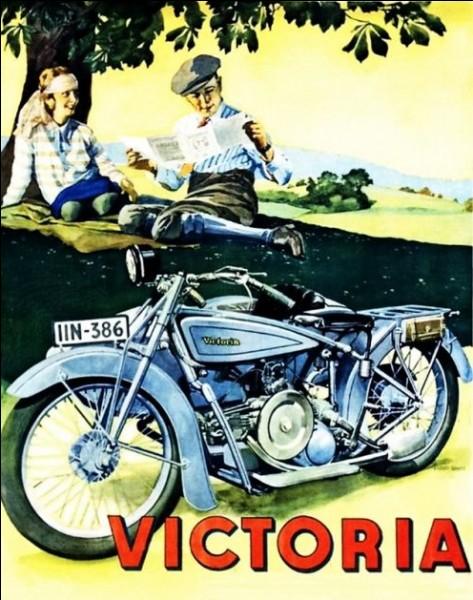 Victoria est une marque anglaise.