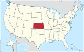 Quelle ville parmi, celles-ci, se situe dans l'État du Kansas ?