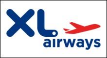 Quel aéroport est la base principale de la compagnie XL Airways ?