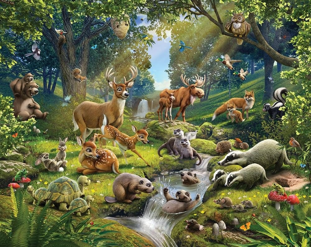 Animaux de la forêt (CE2-CM1)