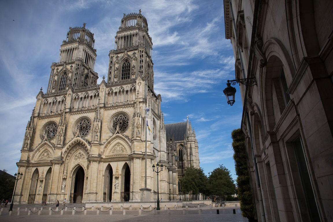 La cathédrale Sainte-Croix d'Orléans