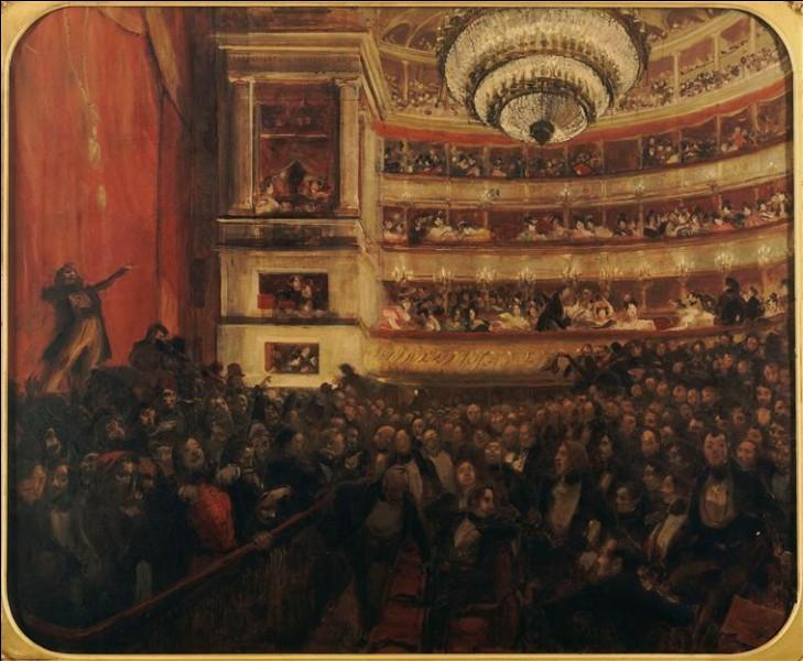 """La première d""""Hernani"""", le drame en 5 actes de Victor Hugo, fut l'occasion d'une célèbre bataille. Mais, quel est le sous-titre de cette pièce ?"""