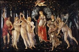 Quelle saison Sandro Botticelli a-t-il voulu représenter sur cette toile ?