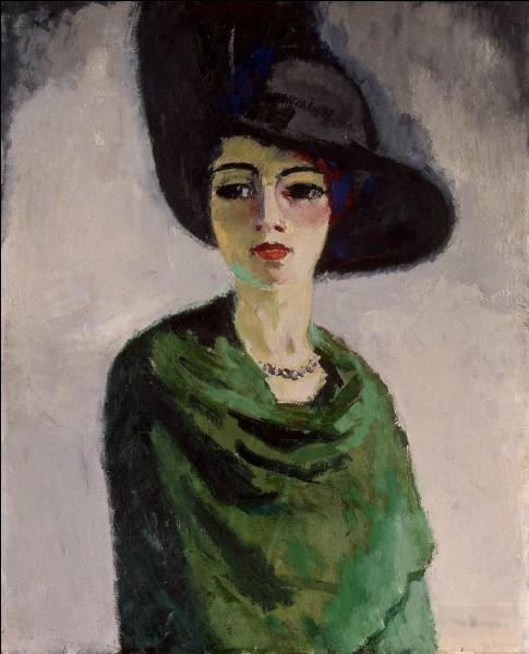 """Qui a peint le tableau """"La Femme au chapeau noir"""" ?"""