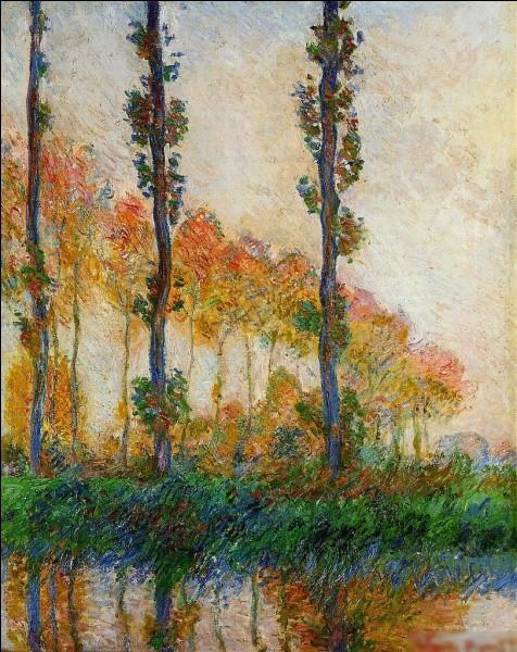"""Qui a réalisé le tableau """"Trois arbres, automne"""" ?"""