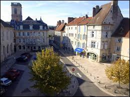 Vesoul est une préfecture de Bourgogne-Franche-Comté.