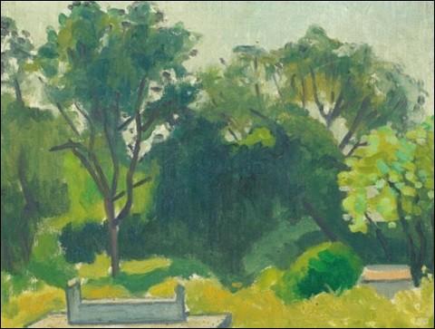 """Qui a peint """"Le cimetière"""" ?"""
