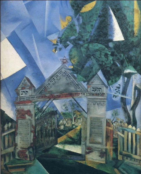 """Qui a peint """"Les portes du cimetière"""" ?"""
