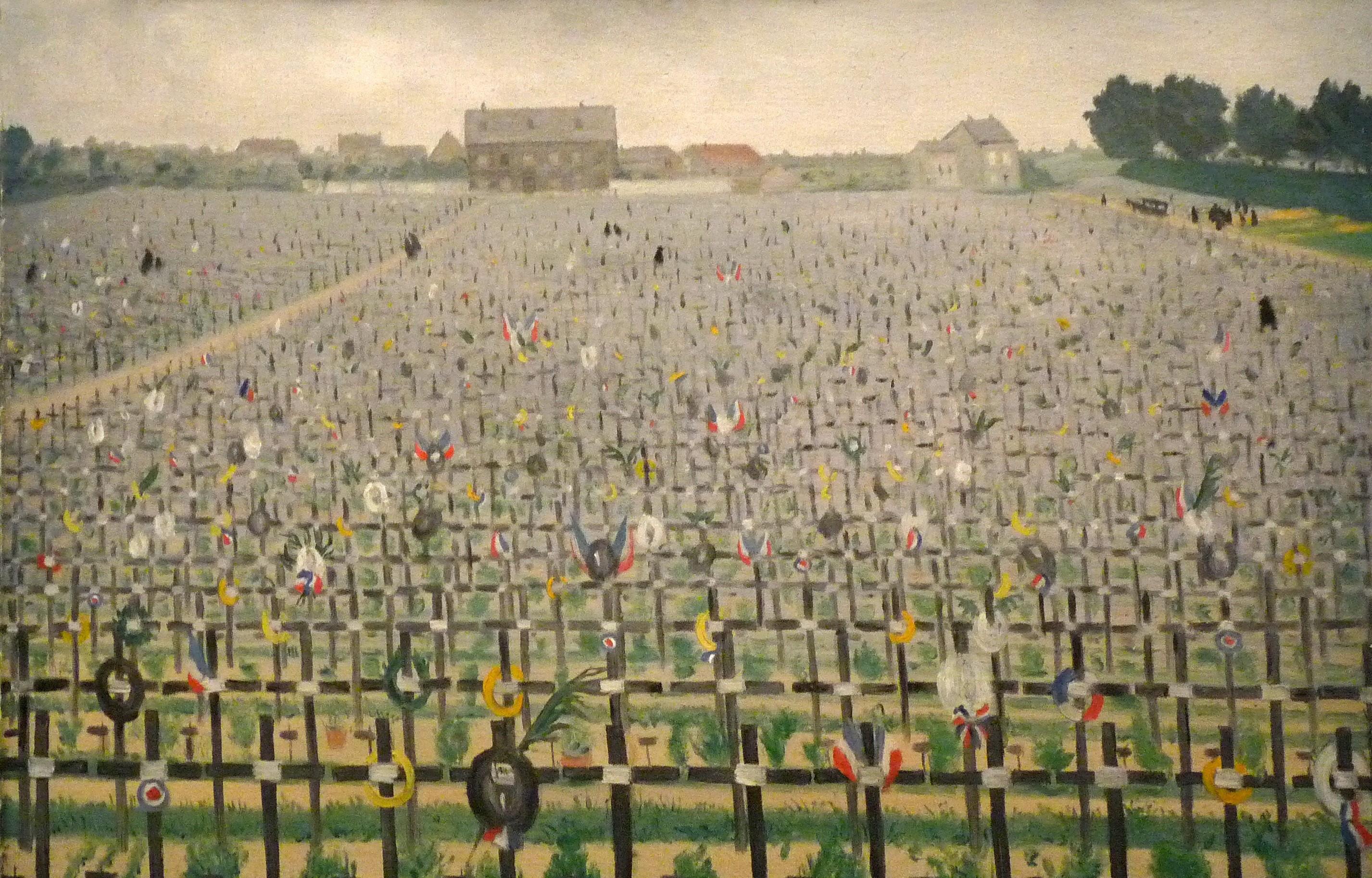 Les cimetières en peinture