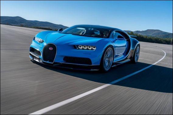Quel est le modèle de cette Bugatti ?