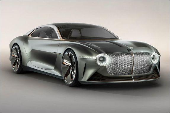 Quel est le modèle de cette Bentley ?