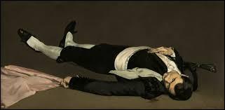 """Qui a peint """"L'Homme mort"""" ?"""