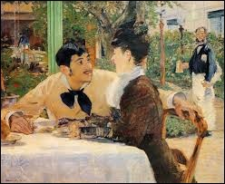 """Qui a peint """"Chez le père Lathuille"""" ?"""