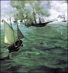 """Qui a peint """"Le Combat du Kearsarge et de l'Alabama"""" ?"""