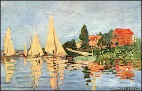 """Qui a peint """"Régates à Argenteuil"""" ?"""
