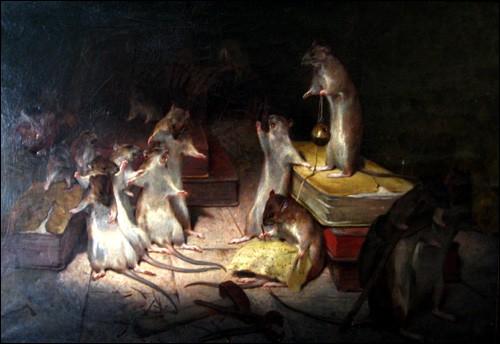 De quelle occasion les rats profitèrent-ils pour tenir conseil ?