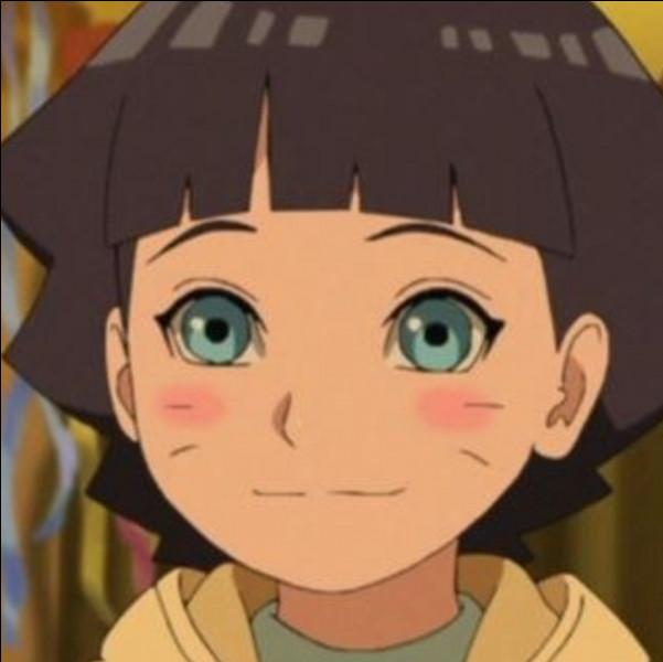 Comment s'appelle la fille d'Hinata ?