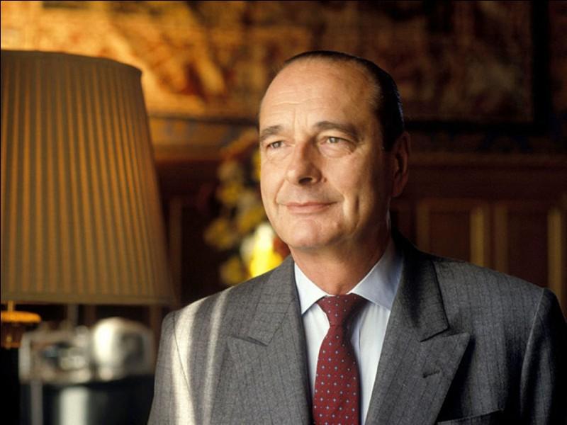 À quel âge Jacques Chirac est-il décédé ?