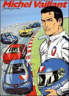 Bandes dessinées - Qui a créé le personnage de Michel Vaillant en 1957 ?