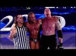 Combien de fois l'Undertaker a-t-il gagné contre Triple H à WrestleMania ?
