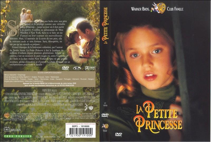 """""""La Petite princesse"""" est un film dans lequel a joué Mary Pickford."""
