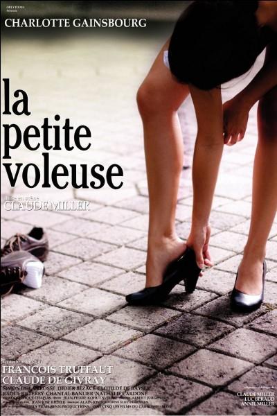 """""""La Petite voleuse"""" est un long-métrage joué par Serge Gainsbourg."""