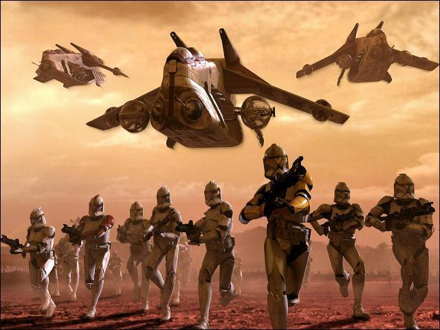 Qui a commandé l'armée Clone ?