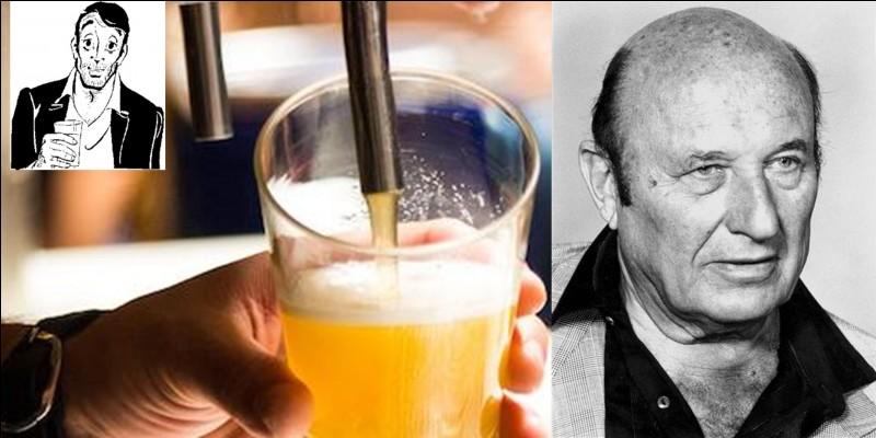 On ne sait pas trop si c'est l'auteur ou sa création qui prononça cette petite phrase ! Sachez seulement que le créateur a écrit 298 romans et qu'il écrivit une (superbe) histoire de France vue par sa création !« Maintenant, l'humanité est devenue un projectile. Lorsqu'on boit de la bière au buffet d'Orly, on évacue dans les closets de Karachi, c'est la vie ».Qui sont ces deux personnes (le créateur et le héros) ?
