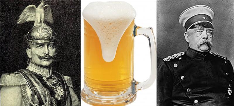 Même s'ils n'ont pas connu totalement les événements qui ont suivi leurs actions, ces deux personnages ont causé beaucoup de tort et de souffrance aux Français et aux Allemands (et à d'autres) ! Ils nous ont donné ces deux citations : « Donnez-moi une femme qui aime vraiment la bière et je conquerrai le monde ».« La bière rend les gens stupides ».Qui sont-ils ?