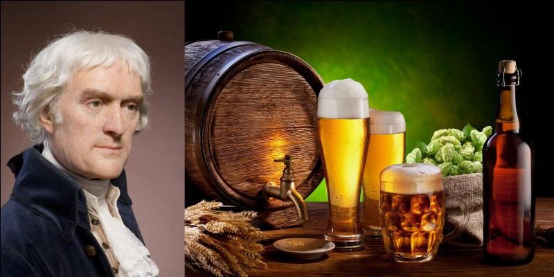 En tant que chef d'Etat de son pays, il acheta un territoire énorme à un pays qui fut son allié pendant un conflit créateur. D'ailleurs, il essaya de produire une des productions phares de cet allié ! Cela ne l'empêcha pas d'apprécier la bière…« La bière, consommée avec modération, adoucit l'humeur, remonte le moral et améliore la santé ».Qui est cet homme ?