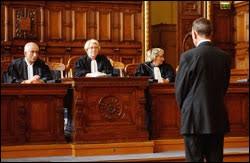 Il désigne le tribunal qui a été saisi d'une affaire, ou plus général la compétence d'un tribunal de pouvoir se saisir d'une affaire.