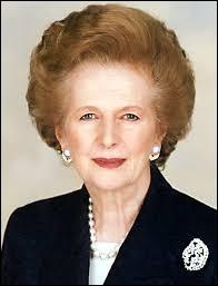 Retrouvez le bon surnom de Margaret Thatcher !