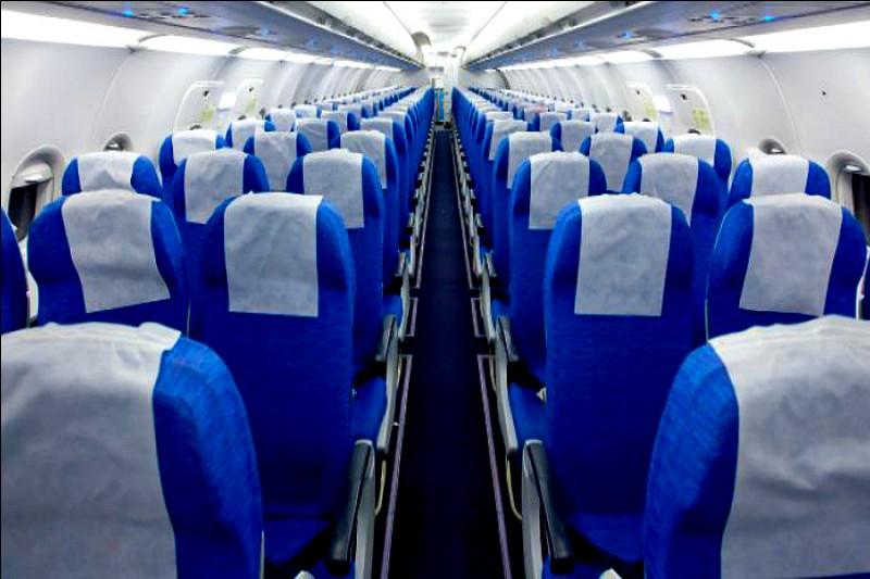 Dans celui-ci, des personnes plus éloignées peuvent prétendre à une place. Dans un avion de ligne classique, à quelle classe correspond-il ?