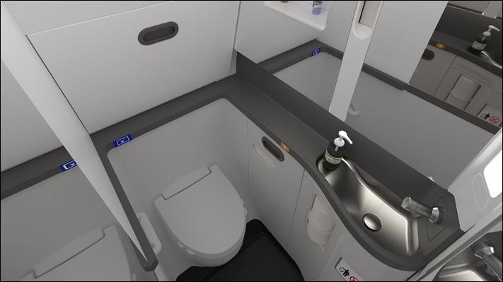 Dans plusieurs zones de l'appareil, nous disposons de toilettes. Mais où vont nos besoins lorsque nous sommes en vol ?