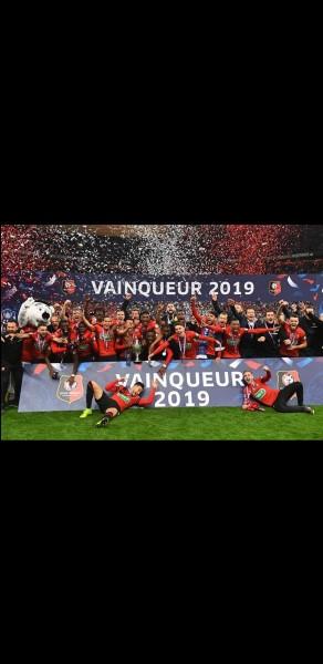 Combien de Coupes de France le Stade rennais a-t-il remportées ?